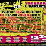 Rebellion Festival 2019 Review: Homegrown talent has the edge over US Invasion on Day One