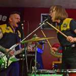 Snakerattlers lead the charge of the twisted rock 'n' roll outsiders at Halloween show