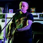 Post-punk legend Kirk Brandon proves he's far from washed up with wonderful intimate gig at launderette