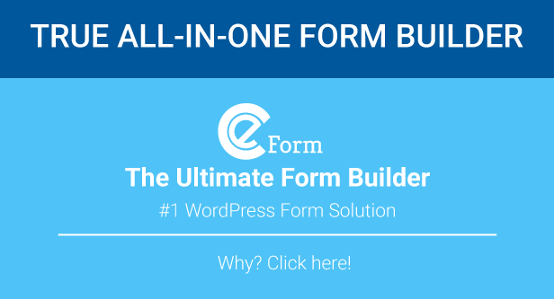 Buy eForm - WordPress Form Builder