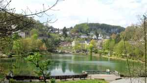Freilinger Lake - Freilinger See, Blankenheim, Germany, Complete travel guide of Blankenheim, Germany, Eifel valley, Ahr valley, the castle of Blankenheim, the spring of Ahr, watersports, windsurfing, swimming, pedal boats