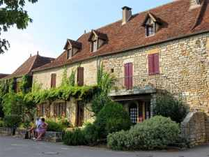 Loubressac, France, Dordogne valley, most beautiful villages in France