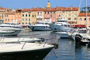 Saint Tropez, France, Provence, Côte d'Azure, yachts, boats, waterfront, colourful houses