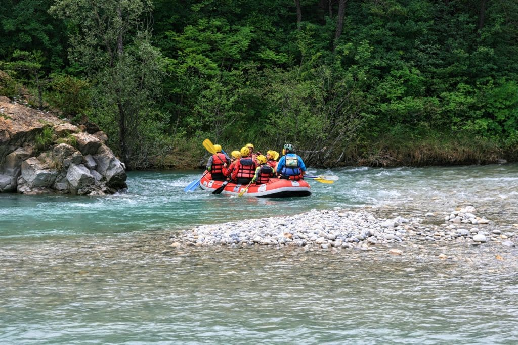 Rafting on the Verdon River