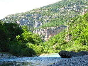 Sentier Martel, Martel Trail, Gorges du Verdon, France, Verdon River, canyon, white rocks
