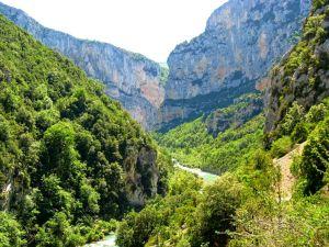 Gorges du Verdon and Verdon, France, river, rocks