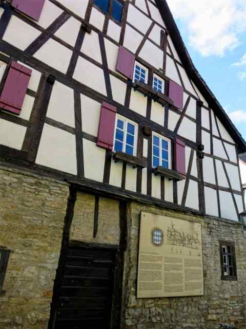 Gerbershaus in Bretten, Germany
