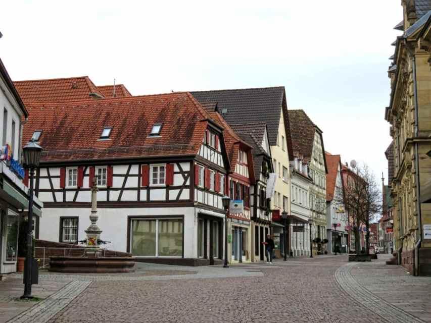 Melanchthonstraße in Bretten, Germany