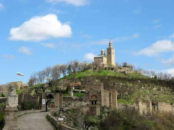 Tsarevets Fortress - Bulgaria