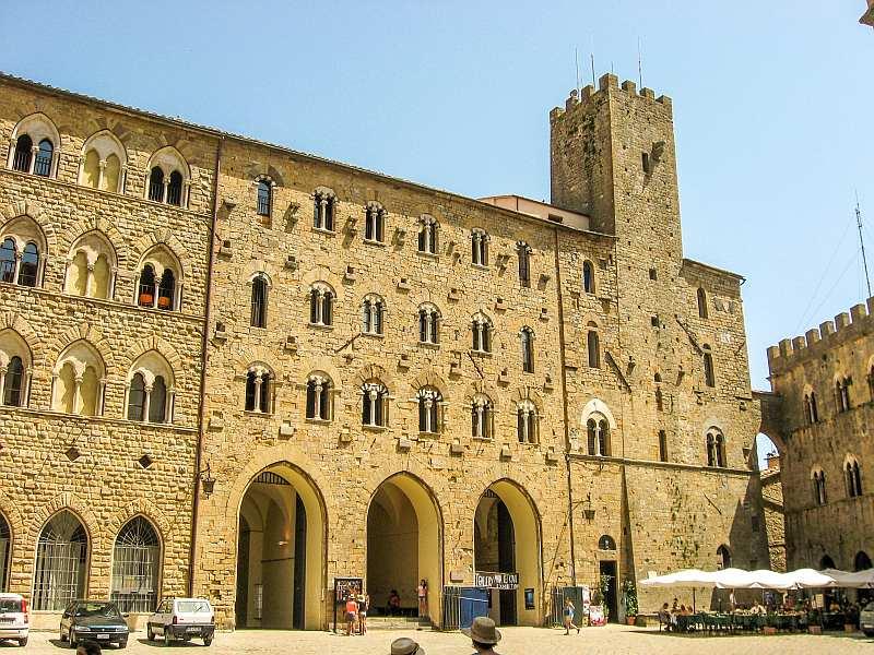 Palazzo Pretorio, Volterra, Tuscany