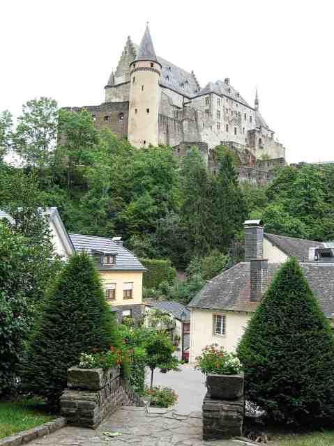 Vianden and the castle