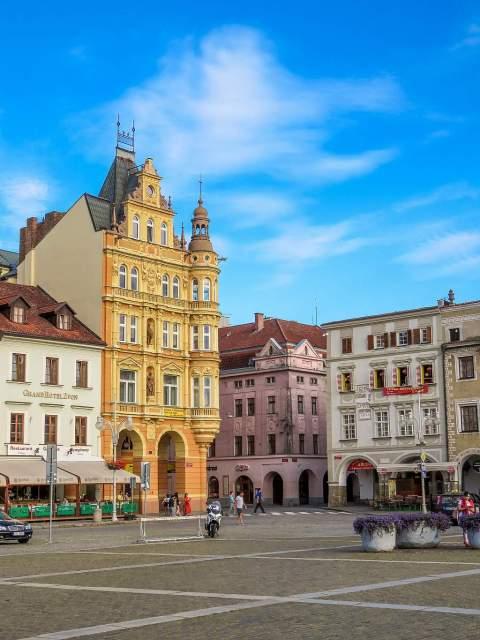 Palac Vcela - Biene Palace in Ceske Budejovice