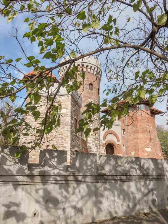 Replica of Vlad Dracula's real castle in Bucharest