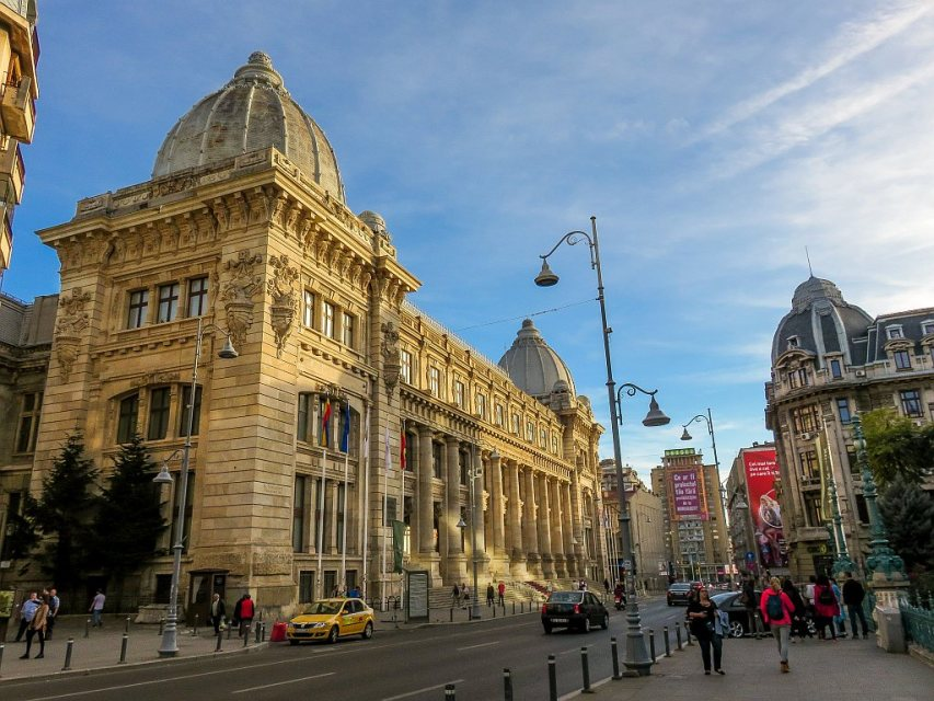 The National Museum of Romanian History in Bucharest