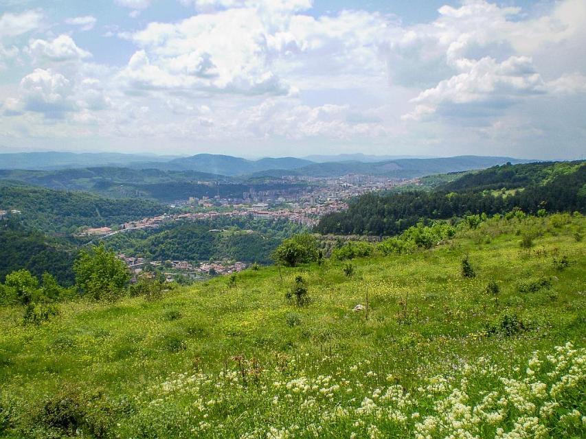 Veliko Tarnovo - view from Arbanassi