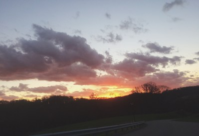 Sunset that was WAY prettier in person