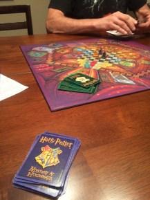 Harry Potter clue. I BARELY won