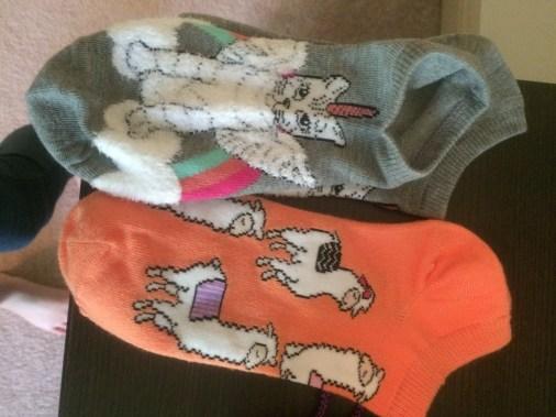 New socks from my mom