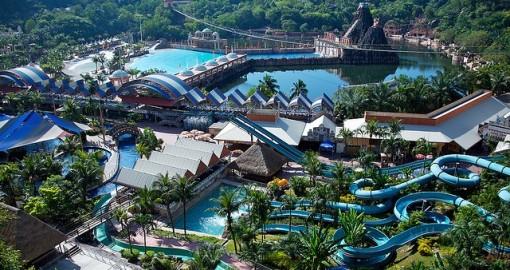 Parco divertimenti Sunway Lagoon in Malesia