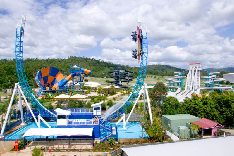 Il parco acquatico Wet'n'Wild Water World in Australia