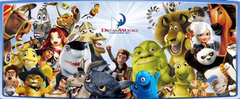Gli Universal Studios acquistano la DreamWorks Animation