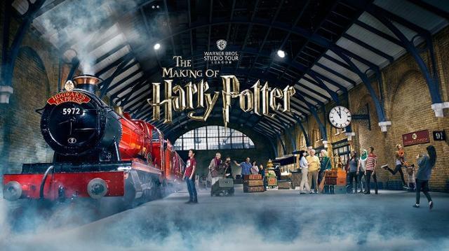 Il Warner Bros. Studios Tour London, una delle principali attrazioni di Londra e dell'Inghilterra