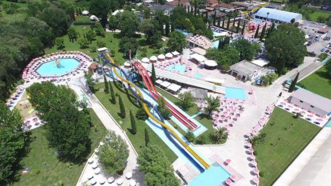 Il parco acquatico Haway Park di Cassino in provincia di Frosinone (Lazio)