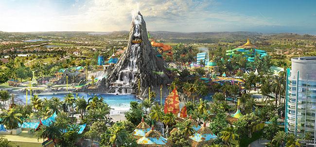 Apre oggi il nuovo parco acquatico Volcano Bay del Universal Orlando Resort