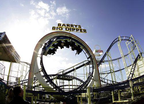 Il parco divertimento Barry's Amusements in Irlanda