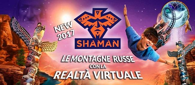Shaman la novita 2017 di Gardaland