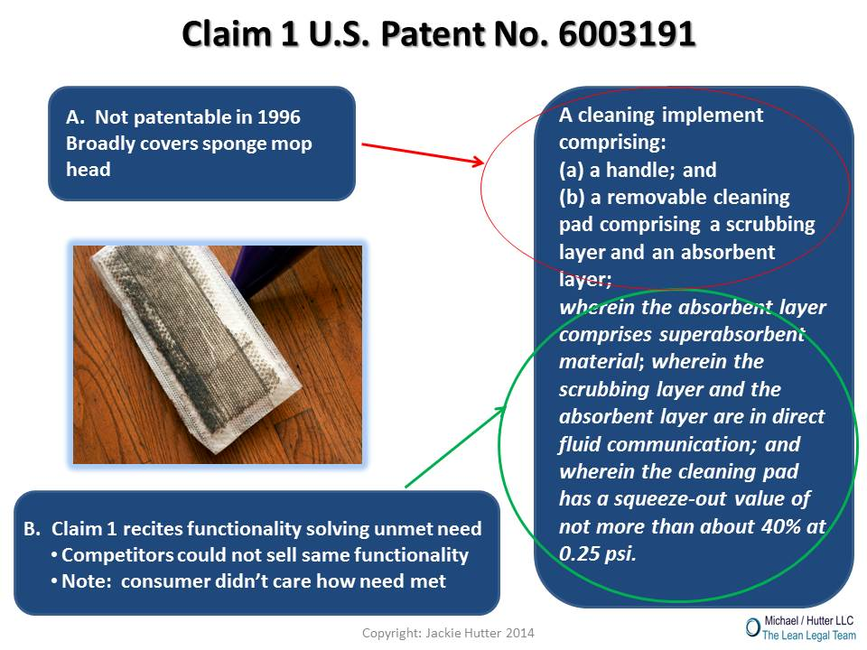 Case study of creating valuable patent protection