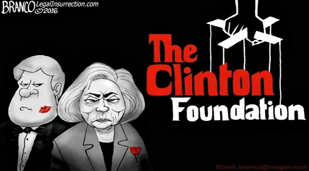 Image result for cartoons branco clinton foundation