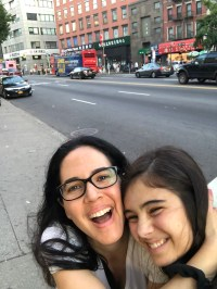 My mom and I laugh our heads off in China Town while we head to Little Italy for Rubirosa's pizza. We lived our best life in New York. (Photo/Bella Ramirez)