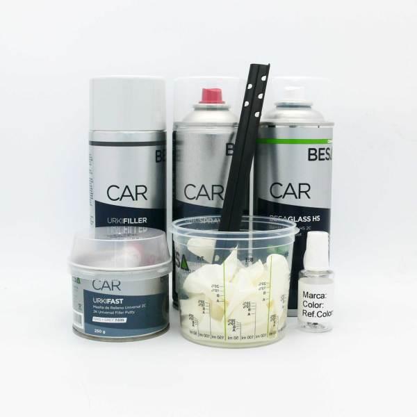 Pack Spray Pintura Bicapa Coche-Moto