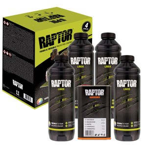Raptor Revestimiento Pintura Tintable Kit 4L