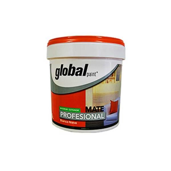 Globalhome Profesional Pintura Plástica Mate Intireios-Exterior Blanca