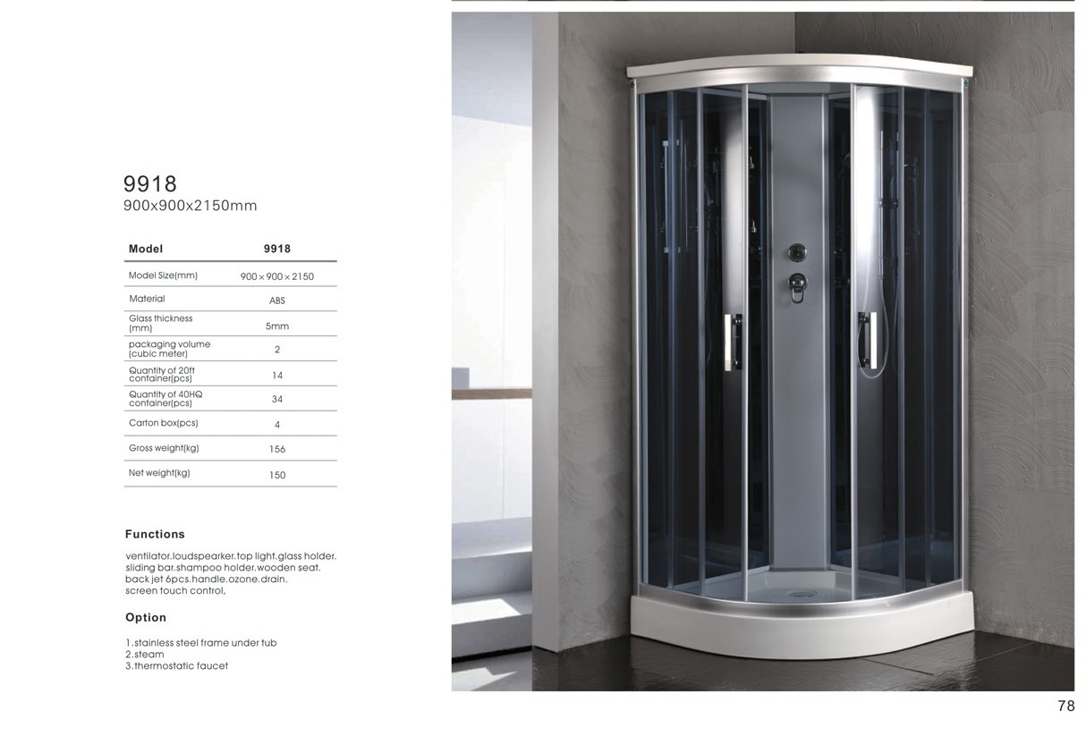 Ipax Cabinets Direct Steam Shower 9918