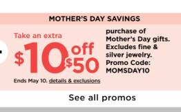 Mother's Day Deals at Kohls