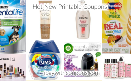 7/12 Hot Printable Coupons Pre-Clipped For You! #deannasdeals
