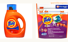$2.95 Tide Liquid or Tide Pods At Walgreens