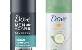 Free Dove Dry Spray Antiperspirant Sample #deannasdeals