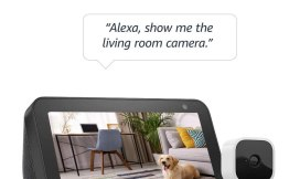 Amazon Echo Show + Blink Mini Camera $49.99 {Reg. Price $124.97}