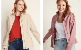 $19 Women's Utility Jacket! Today Only At Old Navy!