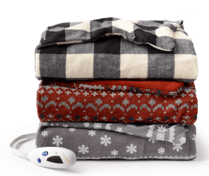 Electric Heating Microplush Throw $25.59 At Kohls!