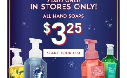 Bath & Body Works Hand Saop