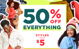 Old Navy 50% Off Everything AND $4 Pajama & Boxer Shorts!