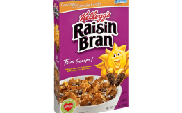 Raisin Bran at CVS