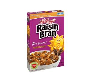 Raisin Bran at CVS