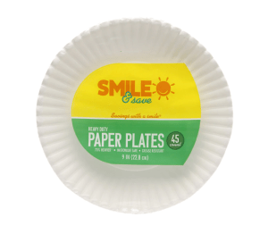 $.99 Paper Plates or Foil At Walgreens