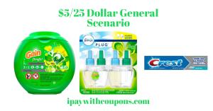 Dollar General $5/25 Scenario Pay $5.00
